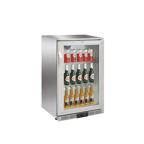 SS Back Bar Cooler 138L Capacity External Digital Temperature Display.900mm Height