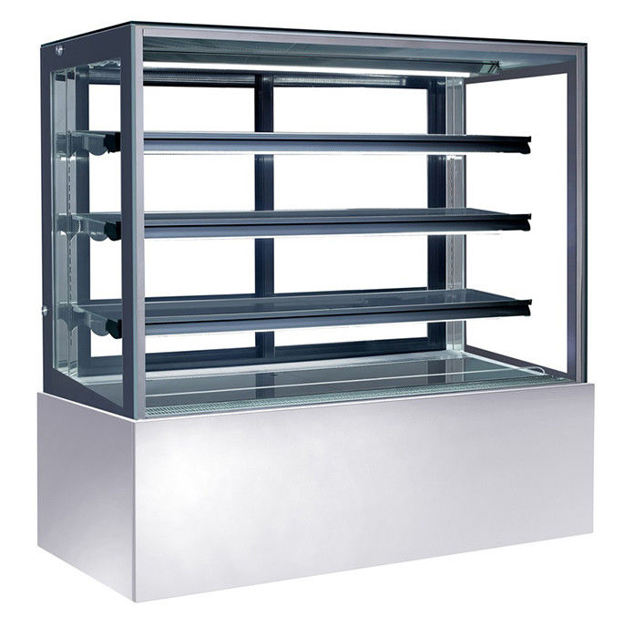 Air Cooling Refrigerated Cake Display Cabinets Cold With Storage & Freezing Function,1500mm